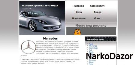 Сайт об истории происхождения лучших авто